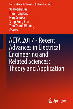 Dao, Tran Trong - AETA 2017 - Recent Advances in Electrical Engineering and Related Sciences: Theory and Application, ebook