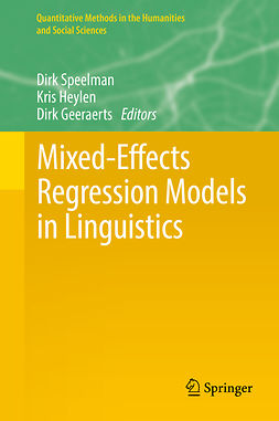 Geeraerts, Dirk - Mixed-Effects Regression Models in Linguistics, ebook