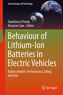 Liaw, Boryann - Behaviour of Lithium-Ion Batteries in Electric Vehicles, ebook