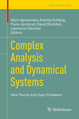 Agranovsky, Mark - Complex Analysis and Dynamical Systems, e-bok
