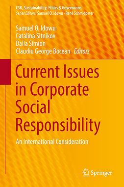 Bocean, Claudiu George - Current Issues in Corporate Social Responsibility, e-bok