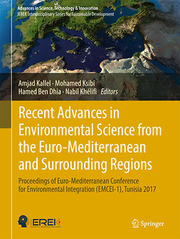 Dhia, Hamed Ben - Recent Advances in Environmental Science from the Euro-Mediterranean and Surrounding Regions, e-kirja
