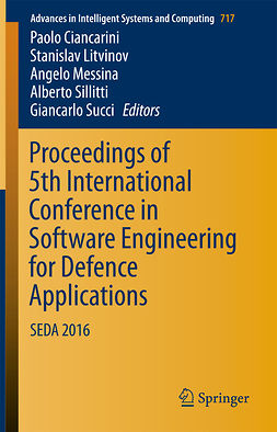 Ciancarini, Paolo - Proceedings of 5th International Conference in Software Engineering for Defence Applications, ebook