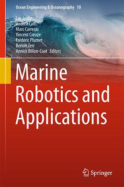 Billon-Coat, Annick - Marine Robotics and Applications, ebook