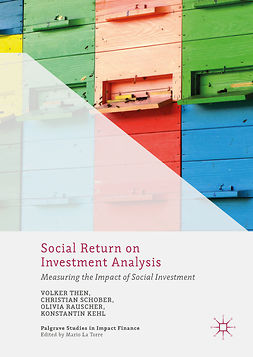 Kehl, Konstantin - Social Return on Investment Analysis, e-bok
