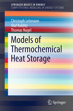 Kolditz, Olaf - Models of Thermochemical Heat Storage, e-bok