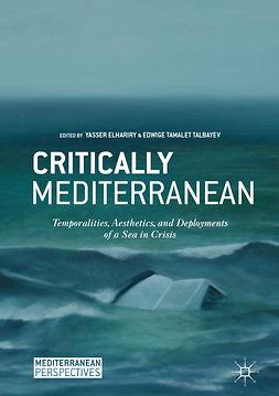 Talbayev, Edwige Tamalet - Critically Mediterranean, ebook