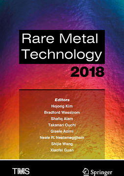 Alam, Shafiq - Rare Metal Technology 2018, e-kirja