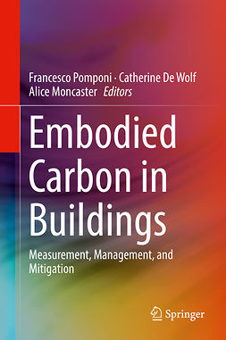 Moncaster, Alice - Embodied Carbon in Buildings, ebook