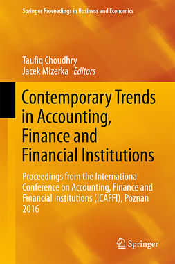 Choudhry, Taufiq - Contemporary Trends in Accounting, Finance and Financial Institutions, e-bok