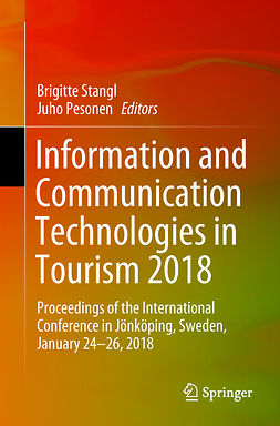 Pesonen, Juho - Information and Communication Technologies in Tourism 2018, e-bok