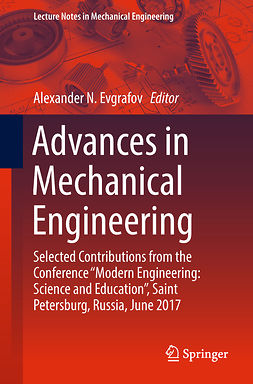 Evgrafov, Alexander N. - Advances in Mechanical Engineering, ebook