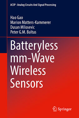 Baltus, Peter G.M. - Batteryless mm-Wave Wireless Sensors, ebook