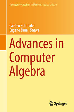 Schneider, Carsten - Advances in Computer Algebra, ebook