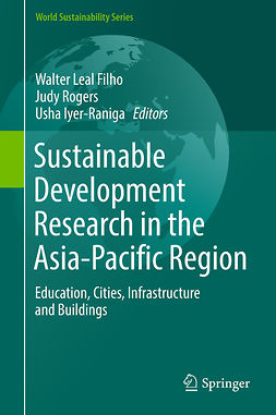 Filho, Walter Leal - Sustainable Development Research in the Asia-Pacific Region, e-kirja
