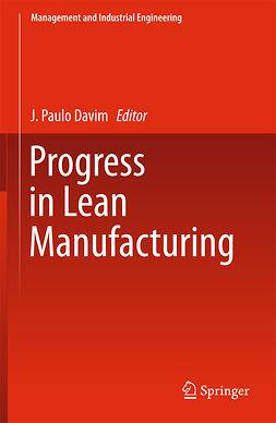 Davim, J. Paulo - Progress in Lean Manufacturing, ebook