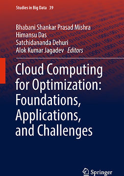 Das, Himansu - Cloud Computing for Optimization: Foundations, Applications, and Challenges, e-bok