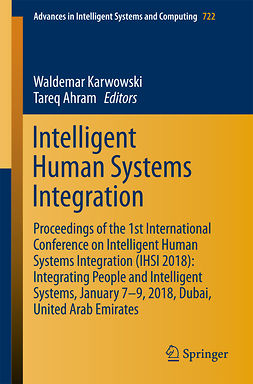 Ahram, Tareq - Intelligent Human Systems Integration, ebook