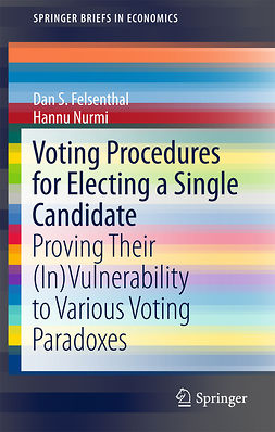 Felsenthal, Dan S. - Voting Procedures for Electing a Single Candidate, ebook