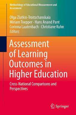Kuhn, Christiane - Assessment of Learning Outcomes in Higher Education, e-bok