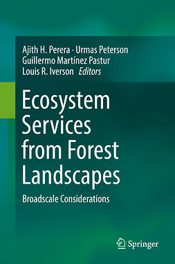Iverson, Louis R. - Ecosystem Services from Forest Landscapes, e-bok