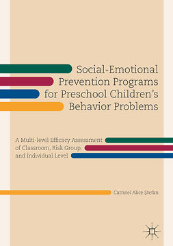 Ştefan, Catrinel Alice - Social-Emotional Prevention Programs for Preschool Children's Behavior Problems, ebook