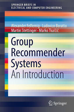 Boratto, Ludovico - Group Recommender Systems, ebook