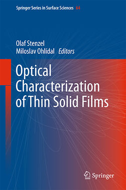 Ohlídal, Miloslav - Optical Characterization of Thin Solid Films, e-bok