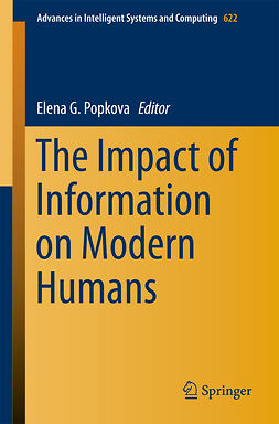Popkova, Elena G. - The Impact of Information on Modern Humans, e-bok