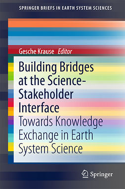 Krause, Gesche - Building Bridges at the Science-Stakeholder Interface, ebook