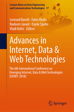 Barolli, Leonard - Advances in Internet, Data & Web Technologies, e-kirja