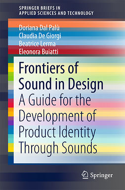 Buiatti, Eleonora - Frontiers of Sound in Design, ebook
