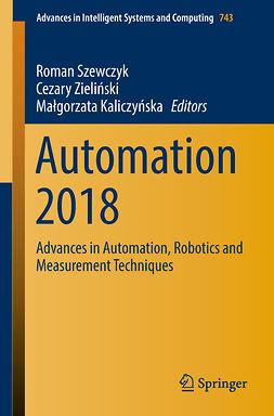 Kaliczyńska, Małgorzata - Automation 2018, e-kirja