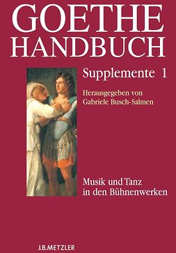 Busch-Salmen, Gabriele - Goethe Handbuch, ebook