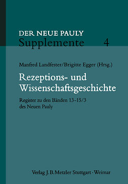Egger, Brigitte - Rezeptions- und Wissenschaftsgeschichte, ebook