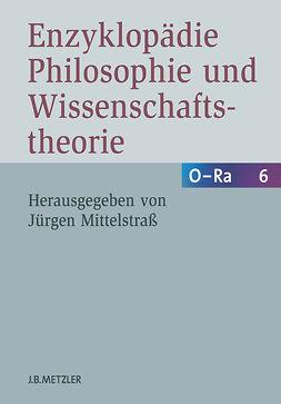 Mittelstraß, Jürgen - Enzyklopädie Philosophie und Wissenschaftstheorie, ebook