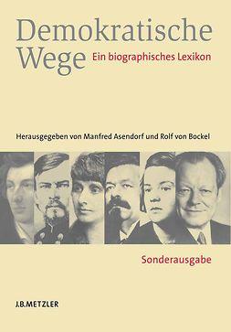 Asendorf, Manfred - Demokratische Wege, ebook