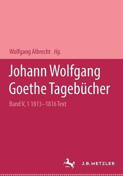 Albrecht, Wolfgang - Johann Wolfgang Goethe Tagebücher, ebook