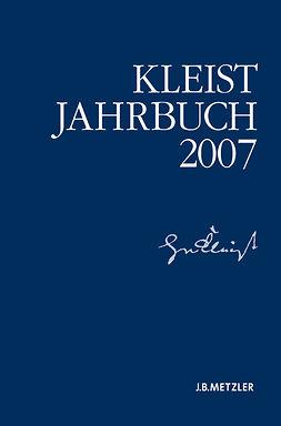 Blamberger, Günter - Kleist-Jahrbuch 2007, ebook