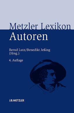 Jeßing, Benedikt - Metzler Lexikon Autoren, e-kirja