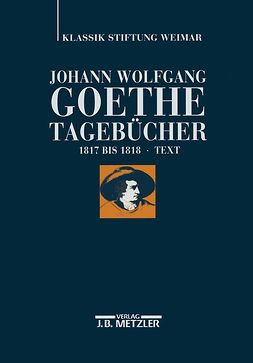 Döhler, Andreas - Johann Wolfgang Goethe Tagebücher, ebook