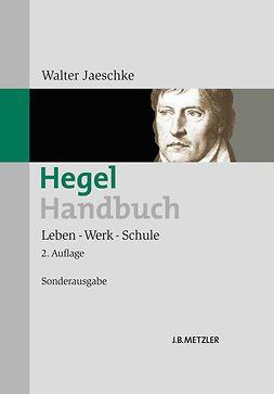 Jaeschke, Walter - Hegel-Handbuch, ebook