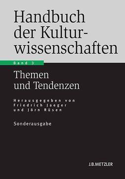 Jaeger, Friedrich - Handbuch der Kulturwissenschaften, ebook