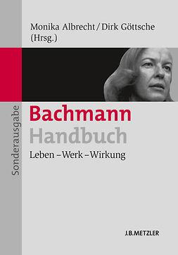 Albrecht, Monika - Bachmann-Handbuch, ebook