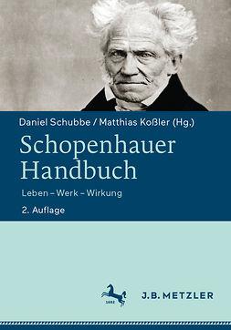 Koßler, Matthias - Schopenhauer-Handbuch, ebook
