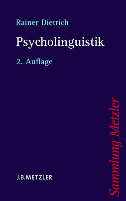 Dietrich, Rainer - Psycholinguistik, ebook