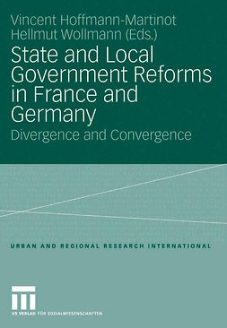 Hoffmann-Martinot, Vincent - State and Local Government Reforms in France and Germany, ebook
