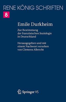 Albrecht, Clemens - Emile Durkheim, ebook