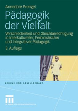 Prengel, Annedore - Pädagogik der Vielfalt, ebook
