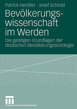 Henßler, Patrick - Bevölkerungswissenschaft im Werden, ebook